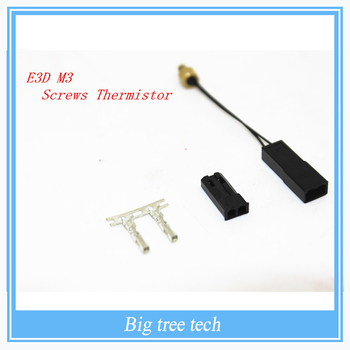 Durable Modular Screw On M3 Stud Thermistor for Reprap Prusa 3D Printer Hot End For Printing Accessory