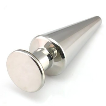 39*110mm 500g Solid Metal Anal Toy Stainless Steel Butt Plug Anus Plug Pussy Plug Adult Sex Toys for Women and Men H8-1-1