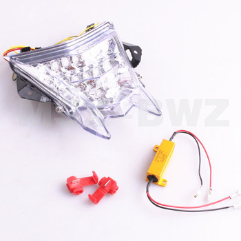 LED Taillight integrated Turn Signals For BMW S1000RR 10 -14 S1000R 14 HP4 12-14 2010 2011 2012 2013 Clear