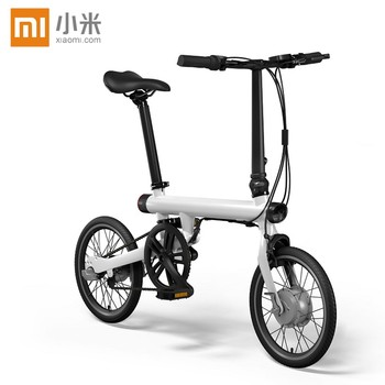 Original xiaomi smart electric bicyle EF1 sport portable mijia Qicycle e bike foldable pedelec ebike 1.8'' screen monitor