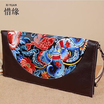 XIYUAN BRAND Real Cow Genuine Leather girls clutch bag Wallets Brand Design Cell phone Card Holder Long Lady Wallet Purse Clutch