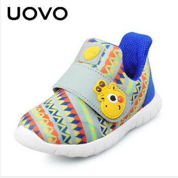 Uovo comfortable little girl and boy children spring leather children's shoes light breathable children's shoes