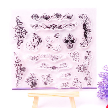 Clear Stamp Scrapbook DIY photo cards rubber stamp seal stamp happy transparent silicone transparent stamp