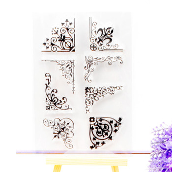 Clear Stamp Scrapbook DIY photo cards rubber stamp seal stamp vine flower transparent silicone transparent stamp