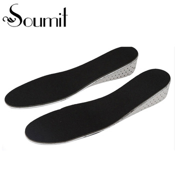Soumit EVA Height Increase Insoles Memory Foam Heel Lift Insole Inserts Foot Pads Cushion Shock Absorbant Insoles for Men Women