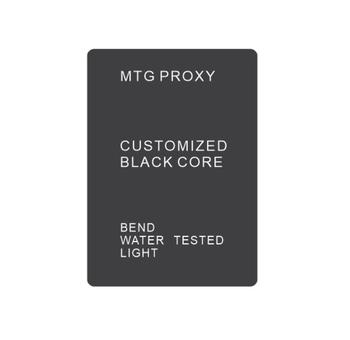 Proxy mtg cards magical customized black core paper made cards 0.31mm the thickness 88x63mm size gathering any cards you want