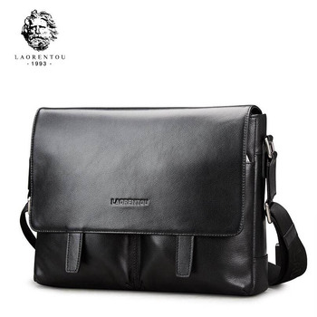 LAORENTOU2017 new high-quality fashion luxury brand shoulder diagonal cross genuine leather bag counter genuine, female well-kno