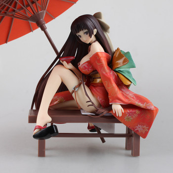 Native Tony Geisha sakuran Invitation kimono Nakahara Tomoe 1/7 Scale Sexy Painted PVC Figure Collectible Model Toy 19cm KT1824