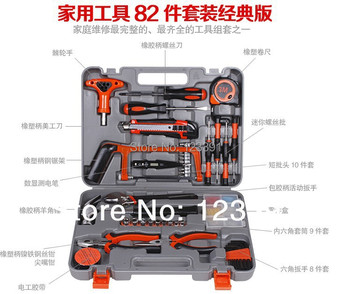 The most useful 82PCS Home Hardware Tool Kit Kit Set hot combination for home improvement Diyer reliable partner at home