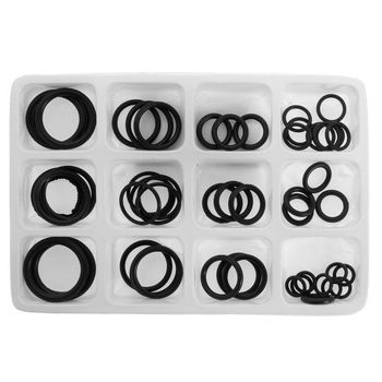 50x Rubber O-Ring Gaskets Assorted Sizes Set Kit For Plumbing Tap Seal Sink Thread New -Y103
