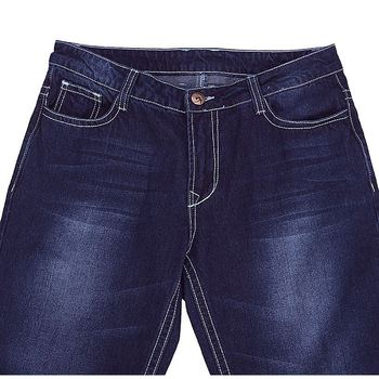 New 2017 Fashion Brand Mens Blue Jeans Straight Casual Cotton Long Denim Trousers Stylish Male Pants pantalones vaqueros