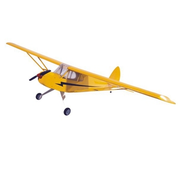 J3 1190mm Wingspan Balsa Wood Electric Scale RC Airplane Glider KIT
