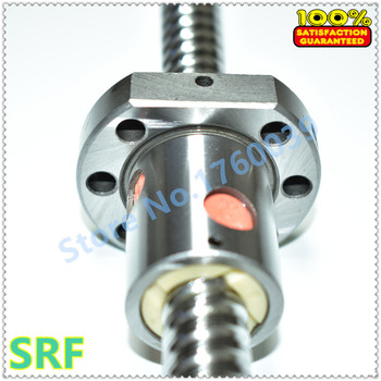 20mm Diameter Ballscrew SFU2010 L=400mm C7+1pcs SFU2010 ballnut with end machined for CNC parts