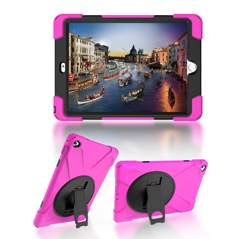For Apple ipad 6 / ipad air 2 RYGOU Spider Case Military Heavy Duty Waterproof Dust/Shock Proof Tablet Case for iPad air2 Cover