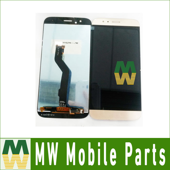 For Huawei G8 LCD Display+Touch Screen Digitizer Assembly 1PC /Lot Black White Gold Color
