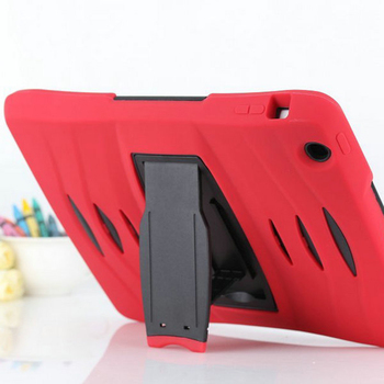 For iPad 2 3 4 Case laptop Bag Drop Resistance Protective Shell Skin Plastic Shockproof Back Cover Stand Tablet Covers Cases