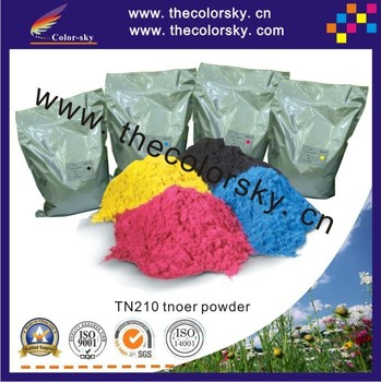 TPBHM-TN210) premium color laser toner powder for Brother HL9120 HL9330 HL9320 bk c m y 1kg/bag/color by fedex