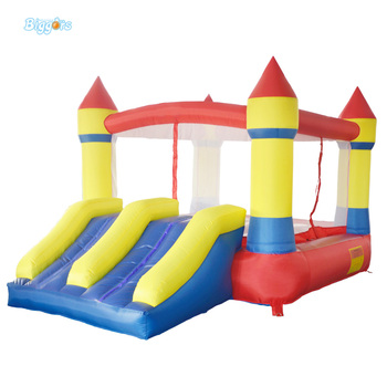 DHL Inflatable Bouncer Bouncy Jumping Castle with Dual Slides with Powerful Blower for Kids