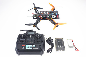 F11858-B 250 PRO Carbon Fiber Mini H FPV Quadcopter RTF Full Kit with Radiolink T6EHP-E TX&RX Battery Charger