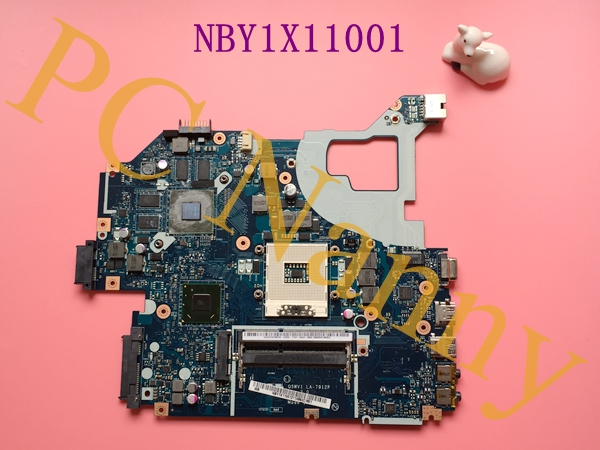 For ACER AS V3-571G Intel Motherboard NBY1X11001 LA-7912P HM77 With GT640M NVDIA Video Card Tested