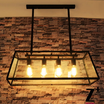 American Style Glass Vintage Pendant Light Industrial Edison Coffee Bar Restaurant Lights