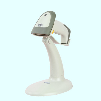 1D Barcode scanner with holder automatic scan  usb interface for pos system and surpermarket