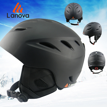 LANOVA Ski helmet Ultralight and Integrally-molded professional Snowboard helmet men Skating/Skateboard helmet Multi Color