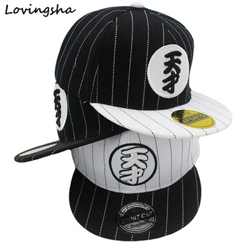 LOVINGSHA Boy Baseball Caps For 3-8 Years Old Children Chinese Word 'Genius 'Design Snapback Caps Adjustable Cap For Girl CC041