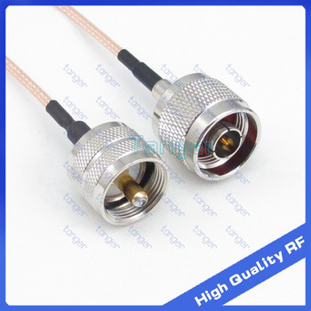 Hot Selling UHF male plug PL-259 to N male plug straight with 20cm 8