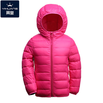 2016 Boy's down Jackets coats winter warm baby Girl's Coats 90% duck Down Kids jackets Children's Outerwears Hooded