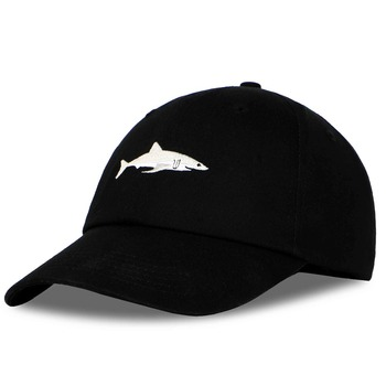 PATESUN 2017 Top Fashion Washed Baseball Cap Men Pink Shark Embroidery Dad Hat for Women gorras planas snapback bosco sport