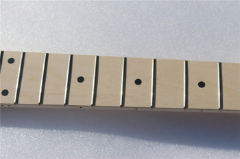 1 pcs electric  guitar neck maple made with maple  fingerboard 24 fret