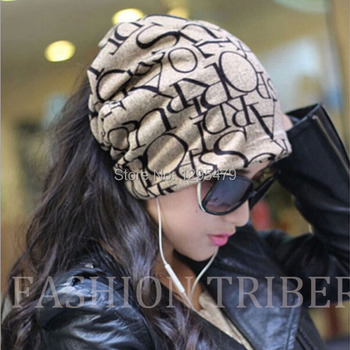 Autumn And Winter Piles Hiphop Toe Cap Covering Cap Pocket Hat Turban Scarf Muffler