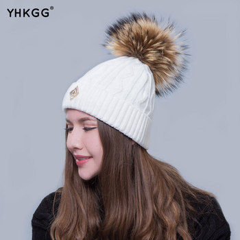 2016  fashion hat Simple and easy twist grain A warm hat lovely hair bulb