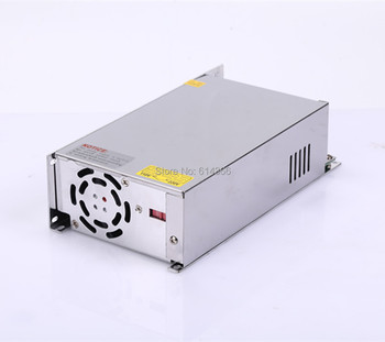 1PCS 500W 12V power supply 12V 40A 500W AC-DC 110/230VAC S-500-12 DC12V