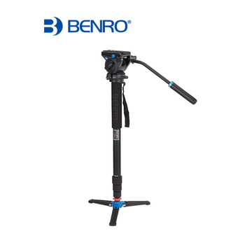 DHL pro Benro C48TDS4 S4 head Carbon fiber Tripod Sports Tripod Set Special For Bird Watching Carbon fiber Monopod Wholesale