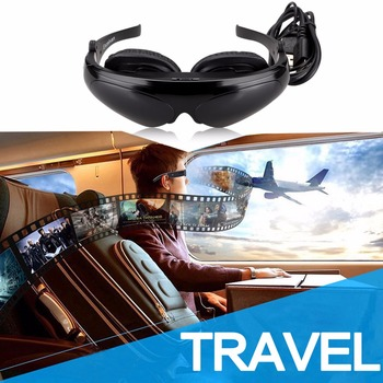 Excelvan HD922 98 Inch Side by Side 3D Video Glasses Virtual Widescreen Personal Theater for HDMI/MHL/AV IN