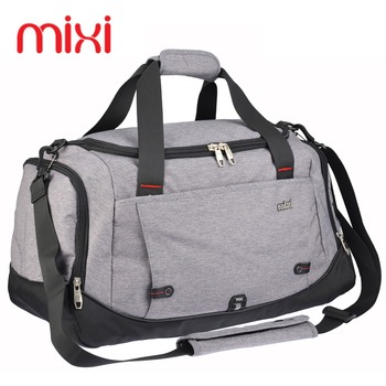 Mixi 39L Polyester Sport Bag Training Gym Bag Men Woman Fitness Bags Durable Multifunction Handbag Outdoor Sporting Duffle Bag
