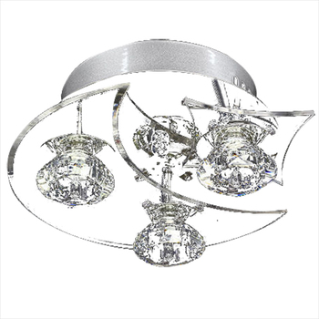 Contemporary LED Crystal Light Pendant Lamp Lighting Chandelier