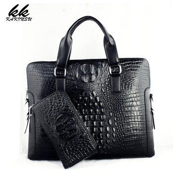 KAKINSU Men Messenger Bags Genuine Leather Bag Men Briefcase Designer Handbags Famous Brand Business Men Bag NT1001