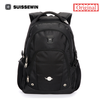Suissewin Brand New Fashion Designer Laptop Backpack Large Capacity Outdoors Bag Swissgear Wenger Business Mochila