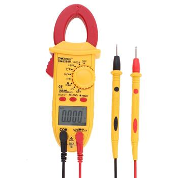True RMS Digital Clamp Meter AC DC Volatage Current Capacitance Resistance Temperature Frequency Tester Handheld Multimeter