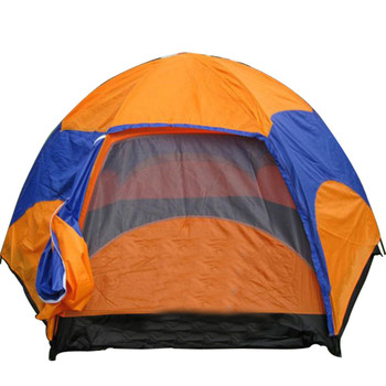 Waterproof Oxford Fabric Double Layers Tent large space 6-8 person 4 season outdoor travel camping hiking tent