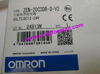 New and original ZEN-20C3DR-D-V2 OMRON Programmable relay DC12-24V