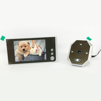 HD 2MP 3.5 Inch 120 Degree Wide Angle Video Door Phone