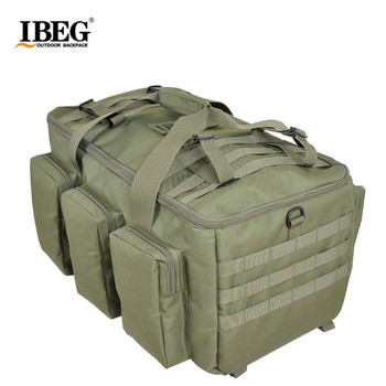 Free Shpping Camouflage Multifunctional Luggage Bag Large Capacity Bag Men's Military Backpack 55L Travel Rucksacks