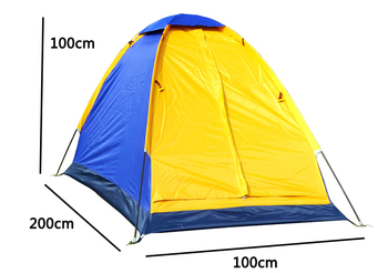 Outdoor Single Camping Tents Portable Durable Tent Breathable Sleeping Tent