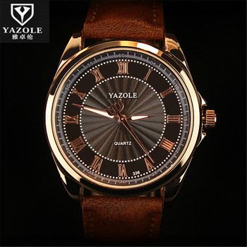 2016 Yazole Quartz Watch Men Watches Brand Luxury Business Waterproof Casual Fashion Luminous Watch Relogio Masculino C88