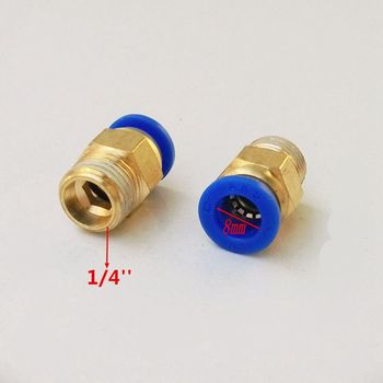 20pcs/lot 8mm Tube 1/4'' Thread Pneumatic Fitting Quick Joint Connector PC8-2