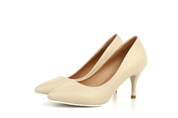 Brand New Purple Blue Pink Beige High Heels Women Nude Pumps Ladies Formal Shoes AYD11 Plus Big Size 32 43 10 Wholesales